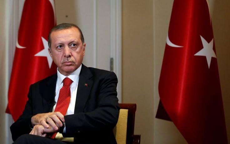 Τη στήριξη της Δύσης κατά του PKK ζητά ο Ερντογάν