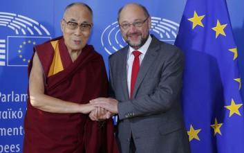 Άστραψε και βρόντηξε η Κίνα για την επίσκεψη Δαλάι Λάμα στο ευρωκοινοβούλιο