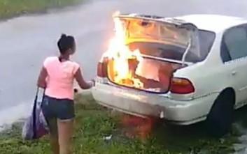 Ήθελε να εκδικηθεί τον πρώην και έκαψε λάθος αυτοκίνητο