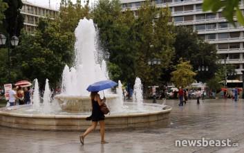 Φθινοπωρινές εικόνες στην καρδιά της Αθήνας