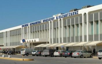 Προβλήματα στις πτήσεις στο Ηράκλειο λόγω των ισχυρών ανέμων