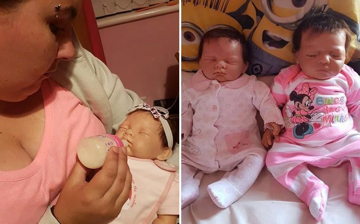 Η 32χρονη που έχει αντικαταστήσει τα παιδιά που της πήραν… με κούκλες