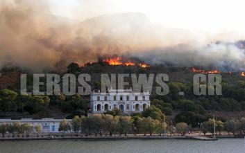 Δήμαρχος Λέρου: Είδαν αλλοδαπούς στο σημείο που ξέσπασε η πυρκαγιά