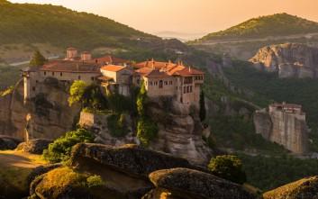 Το γαλήνιο και επιβλητικό μοναστήρι του Βαρλαάμ