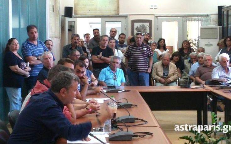 «Μπλόκο» κατοίκων στη Χίο για τα προσφυγόπουλα