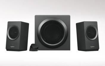 Η Logitech παρουσιάζει το νέο Ηχείο Z337 Bold Sound με Bluetooth