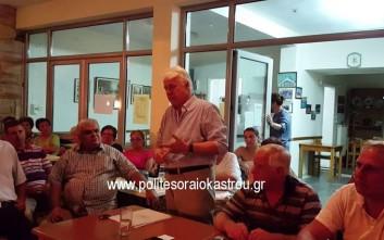 Βίντεο δείχνει το δήμαρχο Ωραιοκάστρου να καλεί σε «μη νόμιμες πράξεις»