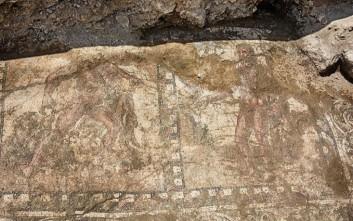 Προς πλήρη αποκάλυψη ψηφιδωτό με άθλους του Ηρακλή