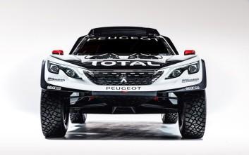 Το «τέρας» της Peugeot για το ράλι Ντακάρ 2017