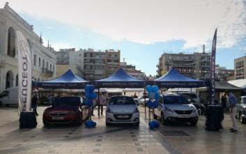 Η Peugeot έδωσε το «παρών» σε διοργάνωση για καρτ στην Πάτρα