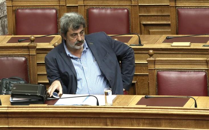 Η απάντηση Πολάκη για το «κόπι - πάστε» στη Βουλή