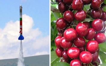 Βιοκαύσιμο για πυραύλους από κεράσια και καραμέλα