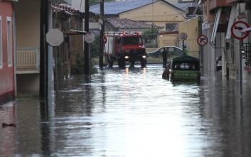 Ενισχύσεις από την Αθήνα στην πλημμυρισμένη Λακωνία