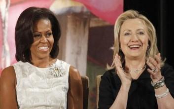 Η Πρώτη Κυρία στηρίζει τη Χίλαρι Κλίντον