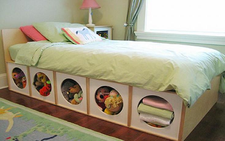 Έξυπνες ιδέες για εξοικονόμηση χώρου στο σπίτι