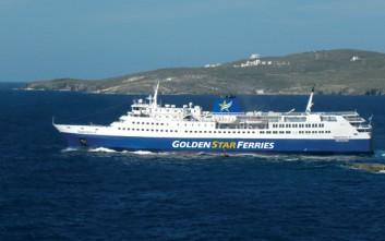 Στο λιμάνι της Άνδρου προσέκρουσε το «Super Ferry ΙΙ»