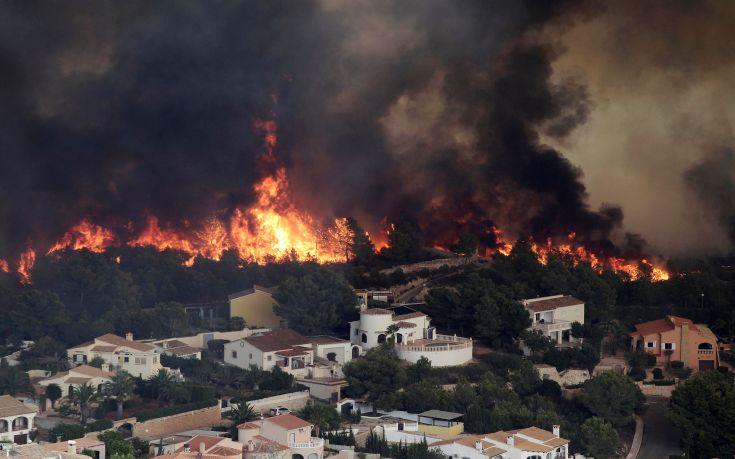 «Μαύρο» ρεκόρ για την Ισπανία στις δασικές πυρκαγιές