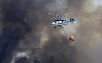 Πύρινο μέτωπο καίει τα βόρεια της Ισπανίας
