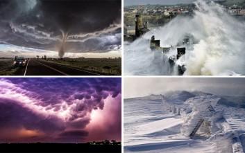 Όταν ο φωτογραφικός φακός συλλαμβάνει την «οργή» της φύσης