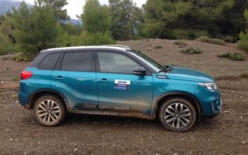 Το Suzuki Vitara θα συνοδεύσει τους αθλητές στο Ellinikon Cross Country Race