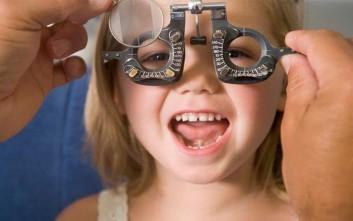 Τι πρέπει να περιλαμβάνει το τσεκάπ των παιδικών ματιών
