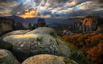 Γραφικά φθινοπωρινά τοπία της Ελλάδας