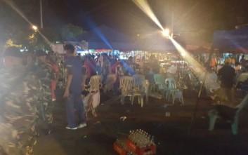 Ισχυρές εκρήξεις σε αγορά στις Φιλιππίνες