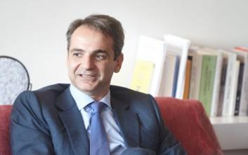 Προσφυγικό και οικονομική κρίση στο επίκεντρο της συνάντησης Μητσοτάκη - Ματαρέλα