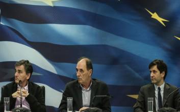 Ενημερώνουν τους βουλευτές του ΣΥΡΙΖΑ για το πολυνομοσχέδιο 6 υπουργοί