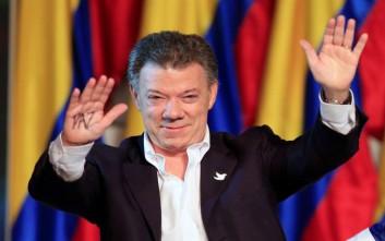 Στον πρόεδρο της Κολομβίας το Νόμπελ Ειρήνης