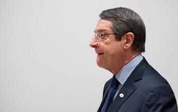 Αναστασιάδης: Η λύση στο Κυπριακό θα φέρει ανάπτυξη για τις επόμενες δεκαετίες