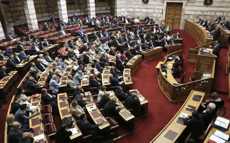 Με τη διαδικασία του επείγοντος προαπαιτούμενα της δεύτερης αξιολόγησης στη Βουλή