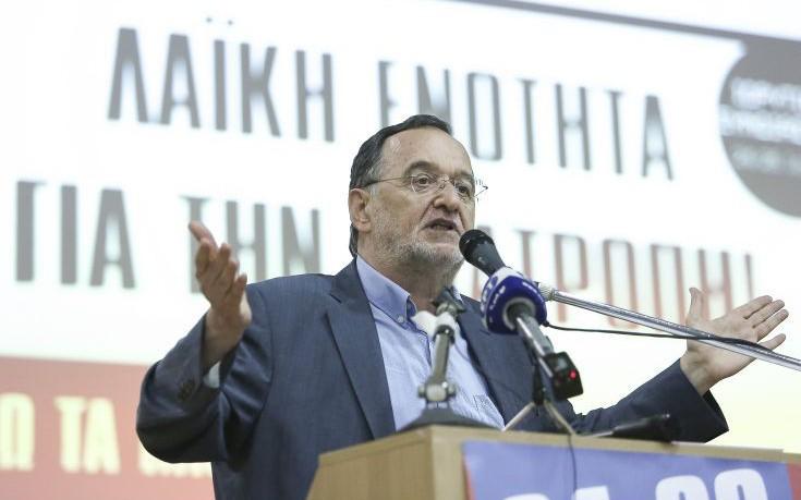 Λαφαζάνης: Ο Τσίπρας φοβάται τις εκλογές, όπως ο διάολος το λιβάνι