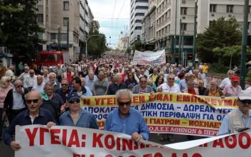 Δύο συγκεντρώσεις στο κέντρο της Αθήνας το πρωί