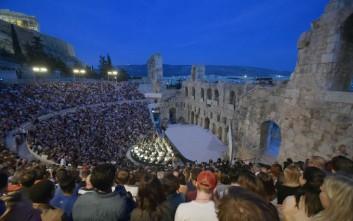 Τα μεγάλα τραγούδια του Άλκη Αλκαίου στο Ηρώδειο