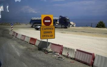 Κυκλοφοριακές ρυθμίσεις στην Αθηνών-Θεσσαλονίκης στην Πιερία