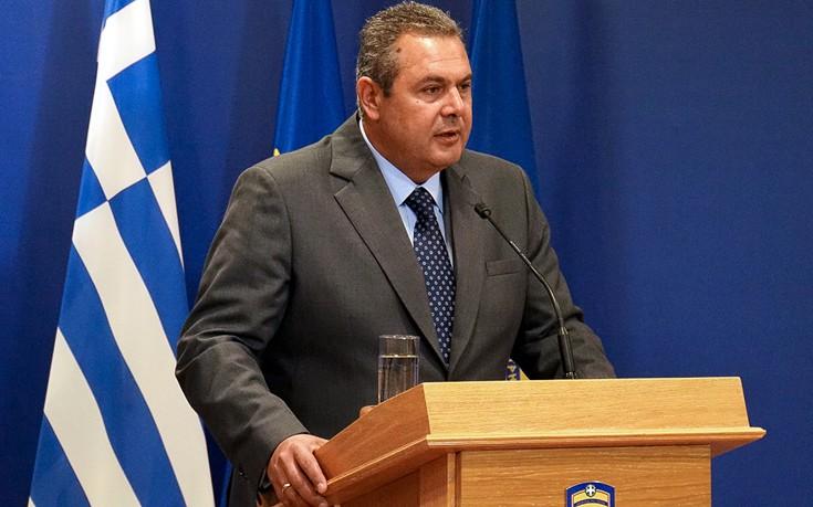 Καμμένος: Οι εισβολείς της Κύπρου αμφισβητούν απροκάλυπτα τη συνθήκη της Λωζάννης