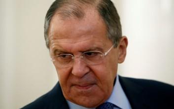 Λαβρόφ: Η Μόσχα θα συνεχίσει τους βομβαρδισμούς στην Ιντλίμπ