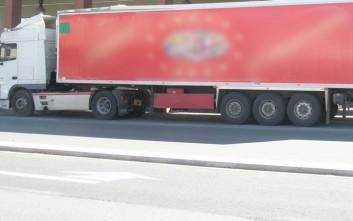 Οδηγός φορτηγού άφησε την τελευταία του πνοή στο τιμόνι