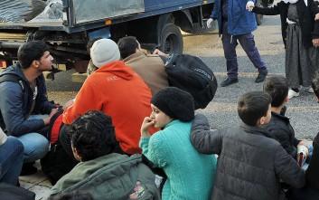 Αφγανοί διαδήλωσαν για την πολύμηνη παραμονή τους στη Λέσβο