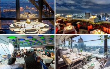Εντυπωσιακά εστιατόρια με πρώτο πιάτο τη θέα