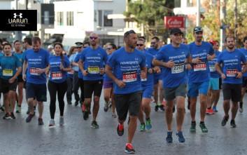 Δυναμική εμφάνιση της «Novasports Running Team» στο «Under Armour Run Kifissia City Challenge»