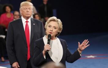 Δημοσκόπηση Reuters: Στο 95% οι πιθανότητες Κλίντον για την προεδρία