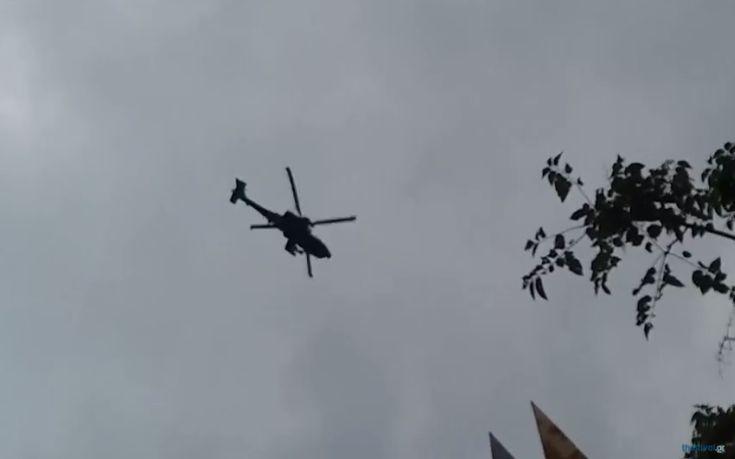 Μαχητικά αεροσκάφη «σκίζουν» τον ουρανό της Θεσσαλονίκης