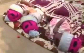 «Νοίκιαζε» νεογέννητα για να ζητιανεύει στους δρόμους