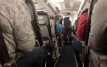 Επιβάτες αεροπλάνου αναγκάστηκαν να συνταξιδέψουν με νεκρή γυναίκα που πέθανε εν ώρα πτήσης