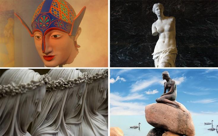 Οι ιστορίες και τα μυστήρια που κρύβουν γνωστά αγάλματα