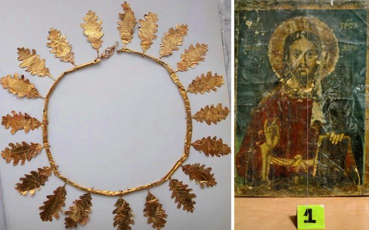 Ανεκτίμητης αξίας αντικείμενα στα χέρια αρχαιοκάπηλων