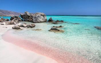Αιθέριες κι εξωτικές ροζ παραλίες σε όλο τον κόσμο