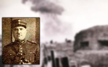 Ο υπερασπιστής του Ρούπελ και ήρωας του 1940, ταγματάρχης Γεώργιος Δουράτσος